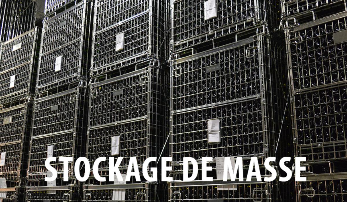 Pour le stockage de masse de vos bouteilles de vin, Filbox est le partenaire idéal.